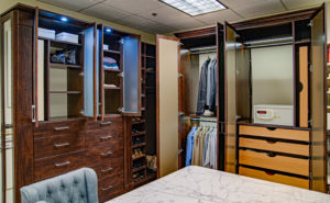 walk-in closet, custom closet, reach-in closet