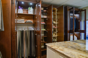 Custom Shelving, Custom Closet, Walk-in Closet