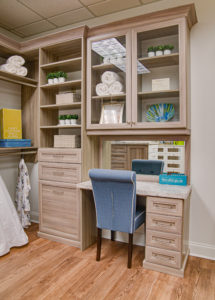 Custom Closet, Custom Vanity, Custom Shelving