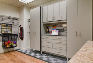 Garage Cabinets, Custom garages, modular floor