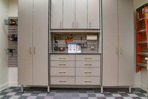 modular flooring, custom garages, garage cabinets