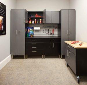 storage cabinets, garage cabinets, handiwall