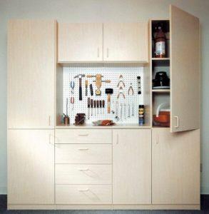 custom garage cabinet, garage cabinetry, tool storage