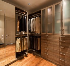 Custom Closet, Mirror Doors, Custom Wardrobe