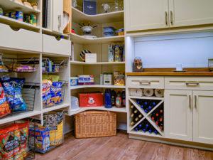 Pantry Shelving, Coffee bar, Food Storage