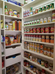 Custom Pantry Drawers, Pantry Shelving, Food Storage