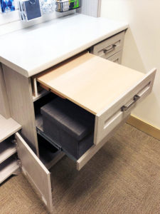custom cabinetry, home offices, custom home office