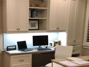 home office, custom home office, work from home
