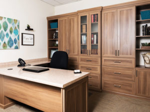 Home Office, Home Office Cabinets, custom home office