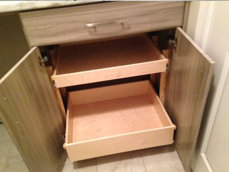 Laundry Room, Rolling Drawers, Cabinet with Drawers