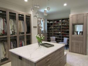 Custom closet, custom walk-in, walk-in closet