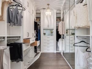 Custom Closets, Custom Wardrobes, White Sliding Drawers